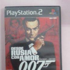 Videojuegos y Consolas: DESDE RUSIA CON AMOR. Lote 98237203