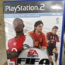 Videojuegos y Consolas: JUEGO DE PLAYSTATION 2 FIFA 2005 PS2. Lote 98436007