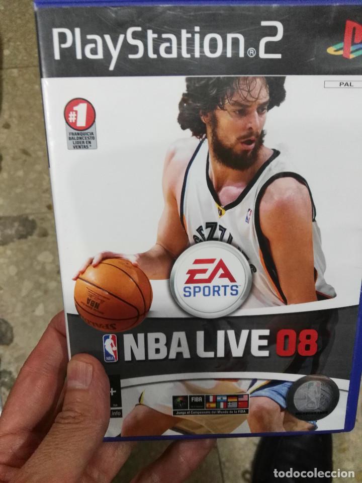 JUEGO PLAYSTATION 2 NBA LIVE 08 PS2 (Juguetes - Videojuegos y Consolas - Sony - PS2)