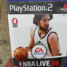 Videojuegos y Consolas: JUEGO PLAYSTATION 2 NBA LIVE 08 PS2. Lote 98561163