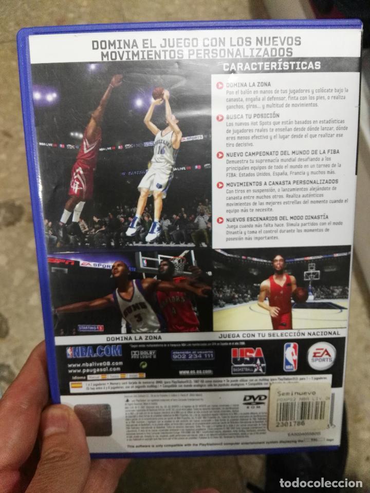 Videojuegos y Consolas: juego playstation 2 nba live 08 ps2 - Foto 3 - 98561163
