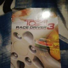 Videojuegos y Consolas: PS2 INSTRUCCIONES TOCA RACE DRIVER 3. Lote 98647715