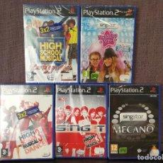 Videojuegos y Consolas: LOTE SING STAR PLAYSTATION 2 PS2. Lote 98771375