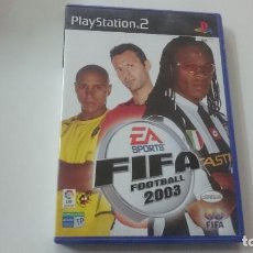 Videojuegos y Consolas: FIFA FOOTBALL 2003 - PLAYSTATION 2. Lote 98790519