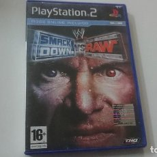 Videojuegos y Consolas: SMACK DOWN VS RAW - PLAYSTATION 2 - EL ORIGINAL. Lote 98790899