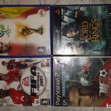 Videojuegos y Consolas: LOTE 4 JUEGOS DE PS2. Lote 98843003