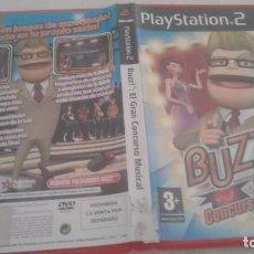 Videojuegos y Consolas: BUZZ EL GRAN CONCURSO MUSICAL SONY PLAYSTATION 2 ( PS2. Lote 98851999