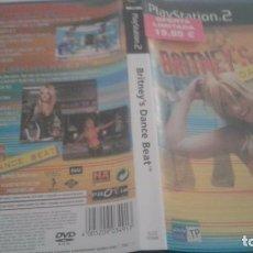 Videojuegos y Consolas: BRITNEY´S DANCE BEATY PLAYSTATION PS2 PAL.EN. Lote 98852299