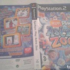 Videojuegos y Consolas: EYE TOY PLAY ASTRO ZOO - PLAYSTATION 2 - PAL ESPAÑA - COMPLETO. Lote 98860523