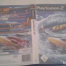 Videojuegos y Consolas: SPEEDBOAT GP - PLAYSTATION 2 - COMPLETO. Lote 98861079