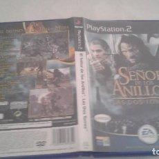 Videojuegos y Consolas: EL SEÑOR DE LOS ANILLOS - LAS DOS TORRES - SONY PLAYSTATION 2 - PS2 - PAL. Lote 98861383