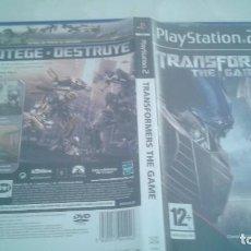 Videojuegos y Consolas: TRANSFORMERS THE GAME - PLAYSTATION 2 - PAL/ESP. Lote 98863431