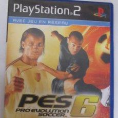 Videojuegos y Consolas: PRO EVOLUTION SOCCER 6 (PS2). Lote 99073535