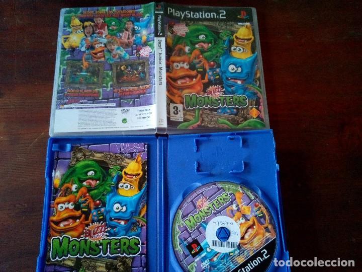 PS2 BUZZ! JUNIOR MONSTERS (Juguetes - Videojuegos y Consolas - Sony - PS2)