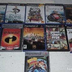 Videojuegos y Consolas: LOTE DE CARATULAS Y LIBROS DE JUEGOS PS2. Lote 99112387
