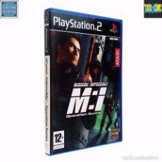 Videojuegos y Consolas: MISSION IMPOSSIBLE / OPERATION SURMA / JUEGO PLAYSTATION 2 PLAY STATION PS2 / PAL / ATARI 2003. Lote 99149075