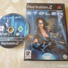 Videojuegos y Consolas: STOLEN. PS2 JUEGO. Lote 99200303