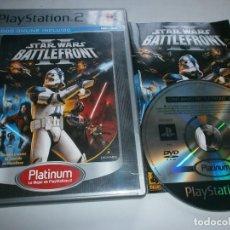 Videojuegos y Consolas: STAR WARS BATTLEFRONT 2 PLAYSTATION 2 PAL ESPAÑA COMPLETO. Lote 222710135