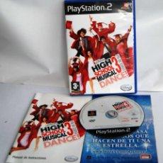 Videojuegos y Consolas: HIGH SCHOOL MUSICAL 3 FIN DE CURSO DE PLAYSTATION 2 COMPLETO PSX PS PLAY STATION DISNEY. Lote 101138039