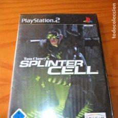 Videojuegos y Consolas: SPLINTER CELL - JUEGOS PS2 PLAYSTATION 2 - JUEGO COMPLETO -. Lote 102002527
