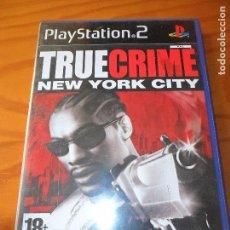 Videojuegos y Consolas: TRUE CRIME, NEW YORK CITY - JUEGOS PS2 PLAYSTATION 2 - JUEGO COMPLETO -. Lote 102002835