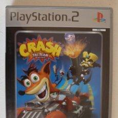 Videojuegos y Consolas: CRASH TAG TEAM RACING - PLAYSTATION 2 - PS2 - CASTELLANO - COMPLETO CON MANUAL - EXCELENTE ESTADO. Lote 102074891