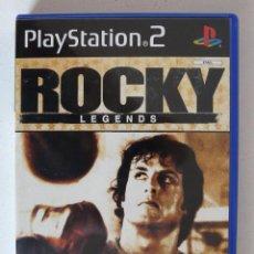 Videojuegos y Consolas: ROCKY LEGENDS (UBISOFT) - PLAYSTATION 2 - PS2 - CON MANUAL - EXCELENTE ESTADO COMO NUEVO. Lote 102080807