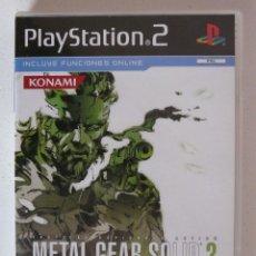 Videojuegos y Consolas: METAL GEAR SOLID 3 (SNAKE EATER) - PLAYSTATION 2 - PS2 - CON MANUAL - MUY BUEN ESTADO. Lote 102084031