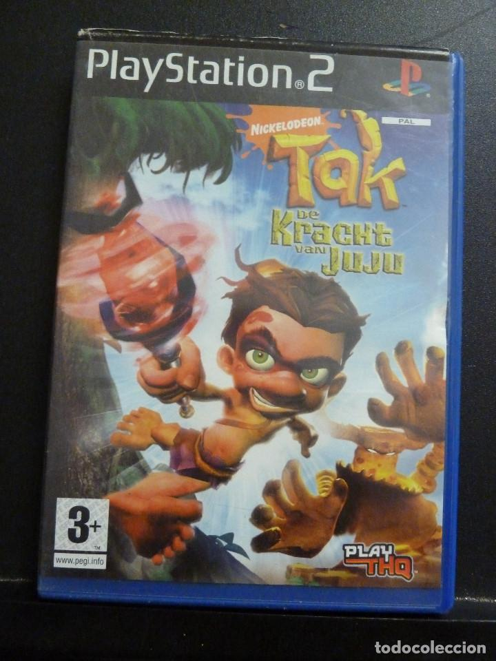 JUEGO - SONY PLAYSTATION 2 - PS2 - TAK AND THE GUARDIAN OF GROSS (Juguetes - Videojuegos y Consolas - Sony - PS2)