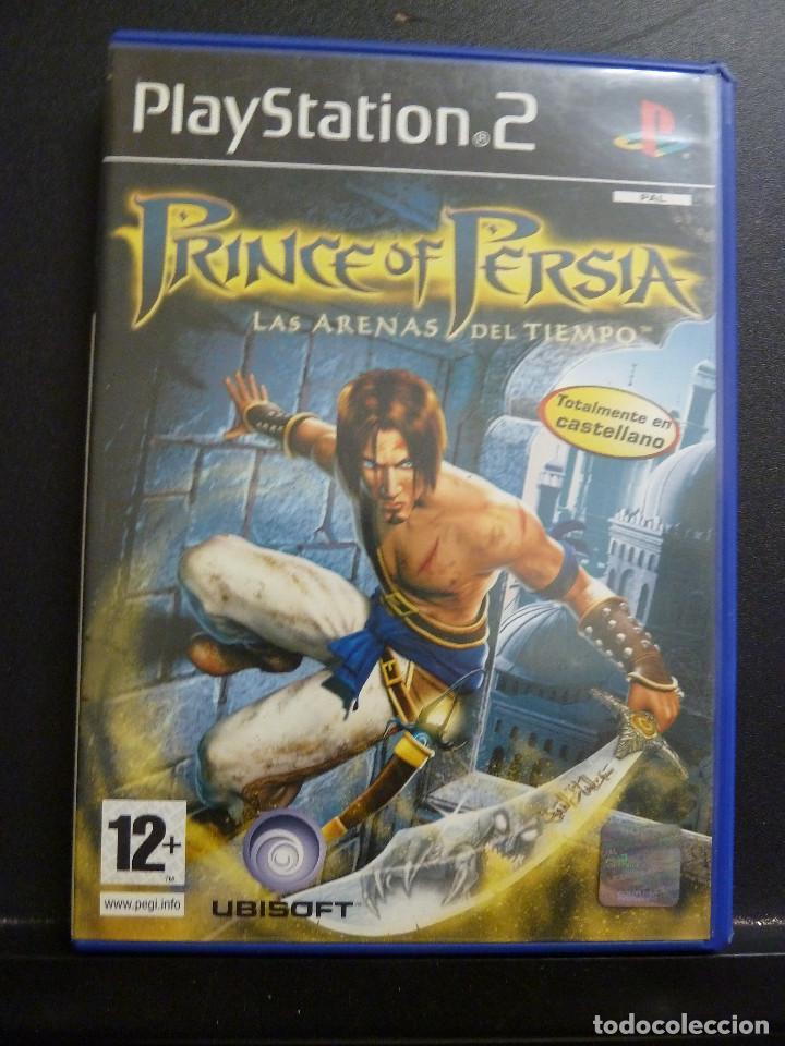 JUEGO - SONY PLAYSTATION 2 - PS2 - PRINCE OF PERSIA - LAS ARENAS DEL TIEMPO (Juguetes - Videojuegos y Consolas - Sony - PS2)