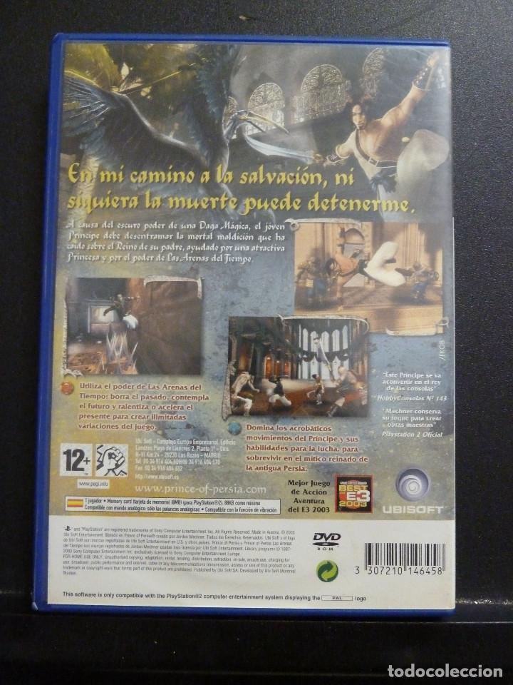 Videojuegos y Consolas: JUEGO - SONY PLAYSTATION 2 - PS2 - PRINCE OF PERSIA - LAS ARENAS DEL TIEMPO - Foto 2 - 102429443