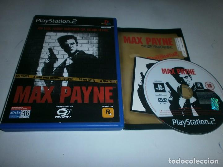 Max Payne Playstation 2 Pal Espana Completo Sold Through Direct