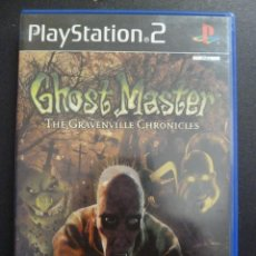 Videojuegos y Consolas: JUEGO - SONY PLAYSTATION 2 - PS2 - GHOST MASTER - THE GRAVENVILLE CHRONICLES. Lote 102593807