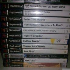 Videojuegos y Consolas: LOTE 13 JUEGOS PS2 PLAYSTATION 2 PAL (VER DESCRIPCIÓN). Lote 102748163