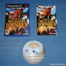 Videojuegos y Consolas: JUEGO PS2 CABELA´S BIG GAME HUNTER 2008 - PAL ESPAÑA. Lote 102822427