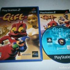 Videojuegos y Consolas: GIFT PLAYSTATION 2 PLAYSTATION 2 PAL ESPAÑA COMPLETO. Lote 175686299