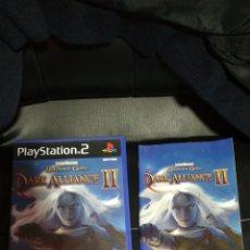 Videojuegos y Consolas: BALDUR'S GATE DARK ALLIANCE II, PS2, PAL ESPAÑA, COMPLETO. Lote 104435818