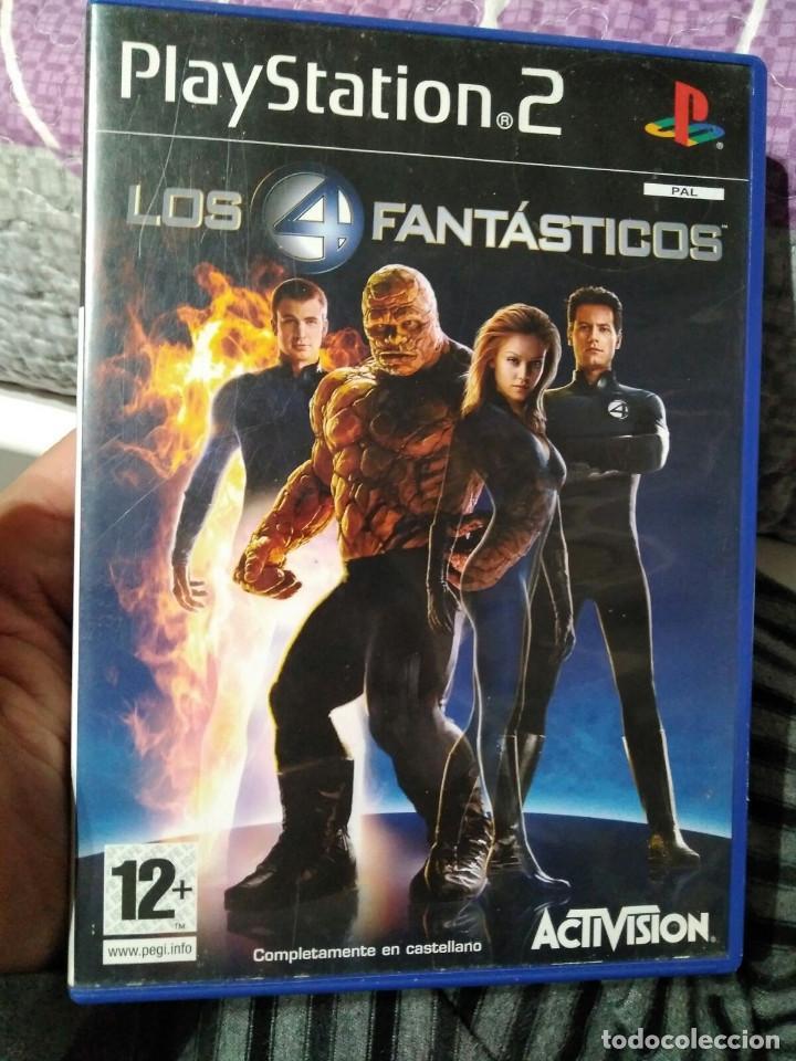 JUEGO DE PS2 LOS 4 FANTASTICOS (Juguetes - Videojuegos y Consolas - Sony - PS2)