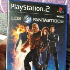 Videojuegos y Consolas: JUEGO DE PS2 LOS 4 FANTASTICOS . Lote 104474187