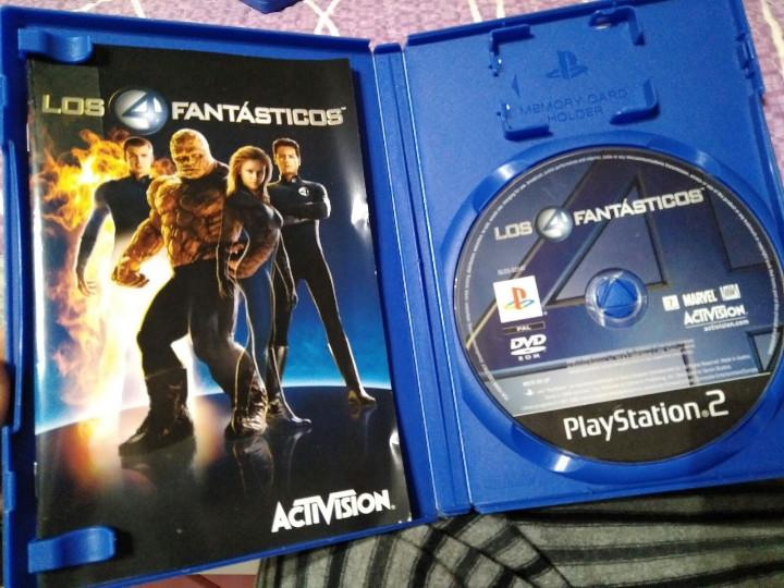 Videojuegos y Consolas: juego de ps2 los 4 fantasticos - Foto 2 - 104474187