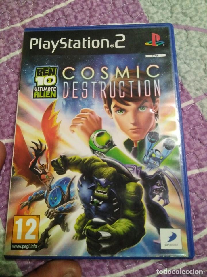 JUEGO DE PS2 LOS COSMIC DESTRUCTION (Juguetes - Videojuegos y Consolas - Sony - PS2)