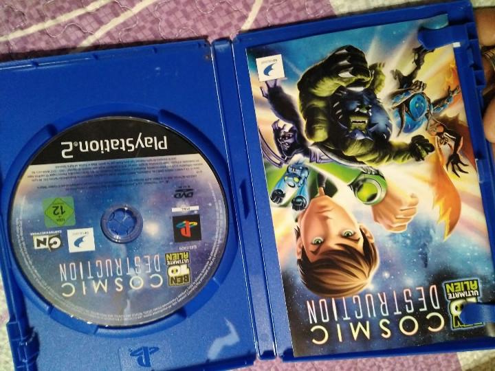 Videojuegos y Consolas: juego de ps2 los cosmic destruction - Foto 2 - 104474419