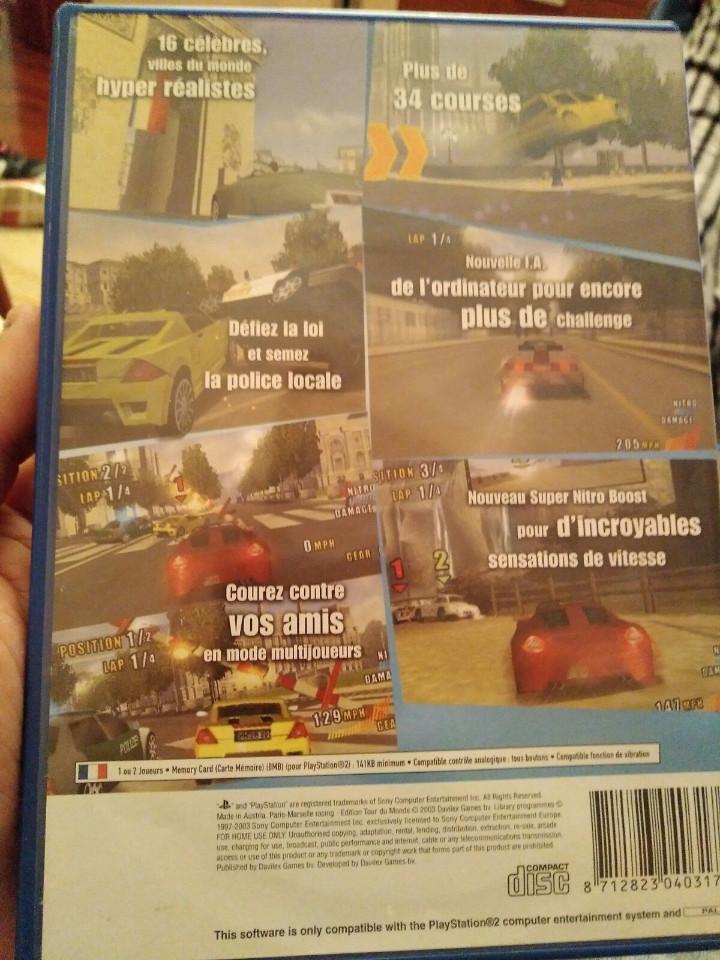 Videojuegos y Consolas: juego de ps2 paris- marselle racing - Foto 2 - 104476215