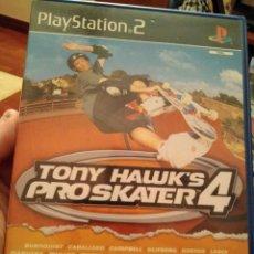 Videojuegos y Consolas: JUEGO DE PS2 TONY HAUKS PROSKATER 4. Lote 104476387