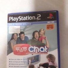 Videojuegos y Consolas: EYE TOY CHAT PAL ESPAÑA SIN MANUAL. Lote 104529384