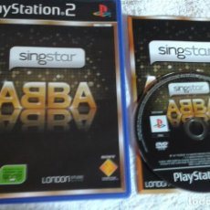 Videojuegos y Consolas: SINSTAR ABBA SING STAR PS2 PLAYSTATION TWO PLAY STATION 2 KREATEN. Lote 104554443