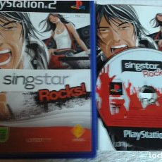 Videojuegos y Consolas: SINGSTAR ROCKS! SING STAR ROCK PS2 PLAYSTATION TWO PLAY STATION 2 KREATEN. Lote 104554747