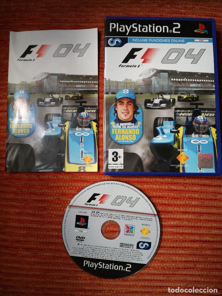 FORMULA ONE 04 PLAYSTATION 2 (Juguetes - Videojuegos y Consolas - Sony - PS2)