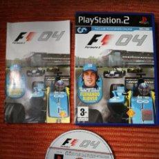 Videojuegos y Consolas: FORMULA ONE 04 PLAYSTATION 2. Lote 105199743