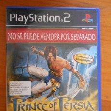 Videojuegos y Consolas: PS2 - PRINCE OF PERSIA LAS ARENAS DEL TIEMPO - PAL ESPAÑA - PLAYSTATION 2 (Z3). Lote 105333647